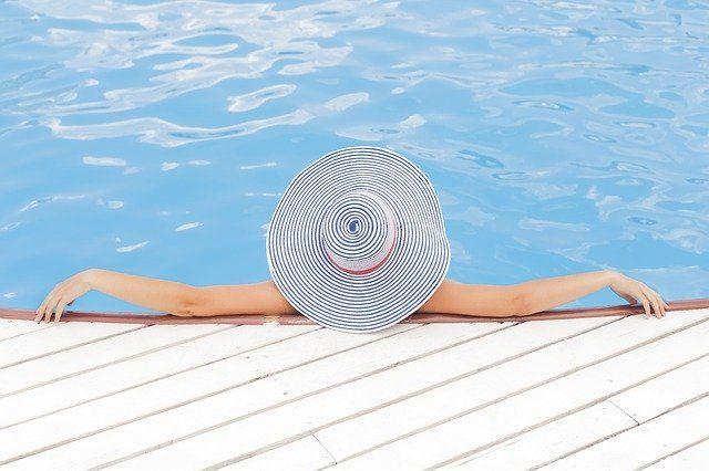 Pływanie w ogrodzie jest łatwe i bez wysiłkowe