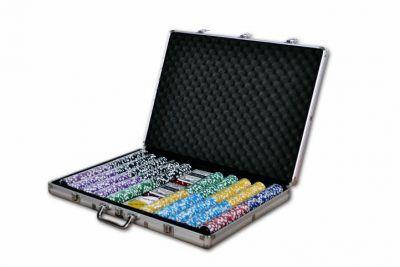 Pokerowy zestaw ULTIMATE walizka 1000 żetonów