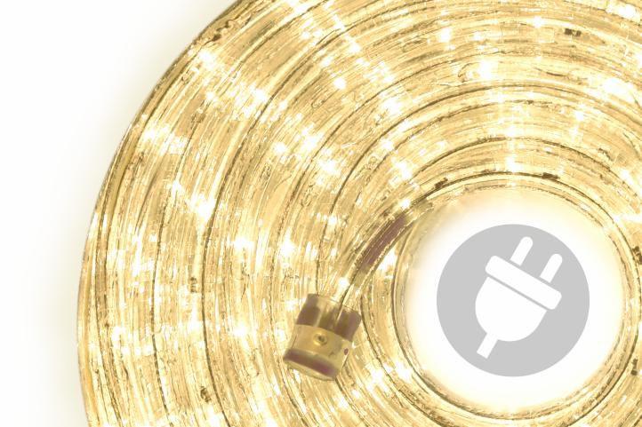 Wąż świetlny 20 m ciepły biały - 480 x LED dioda