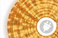 Świetlny kabel - 360 mini lamp, 10 m, żółty