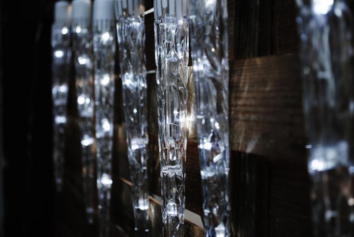 Sople ruchome 10 szt – zimny biały, 8 funkcji świecenia, efekt spadania...
