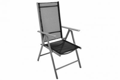 Krzesło GARTHEN rozkładane – czarne