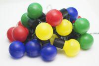 Oświetlenie Garth - łańcuch party 20 LED kolorowe