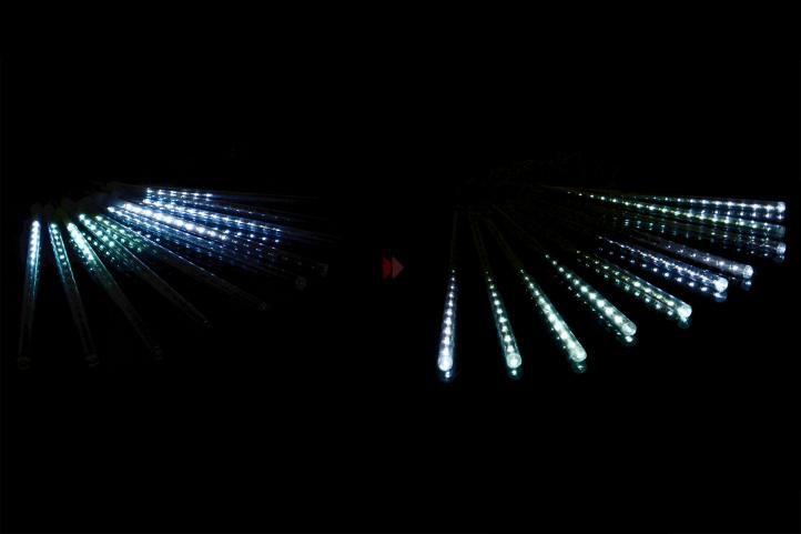 Lampki sople - wodospad, spadające sople 180 LED