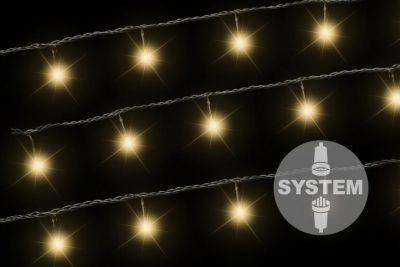 diLED świetlny łańcuch - 40 LED ciepły biały