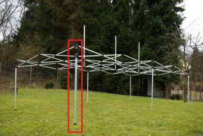 Noga - zamienna część do konstrukci pawilonu PROFI