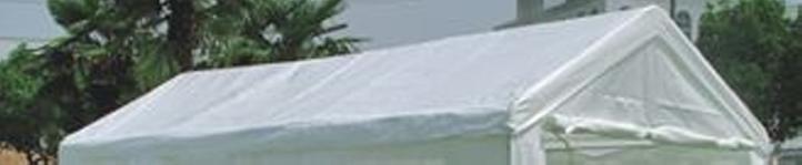 Zapasowy dach altany 4 x 6 m, biały