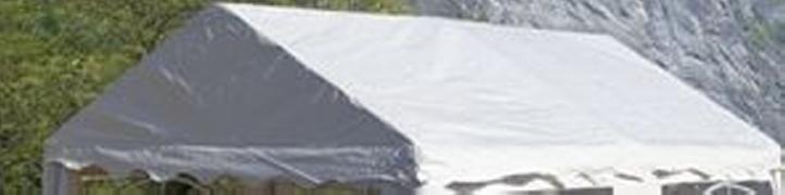 Zastępczy dach do pawilonu 3 x 4 m - biały