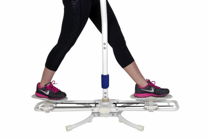 Groovy Przyrząd do ćwiczeń mięśni nóg i brzucha - platforma rotacyjna XC24