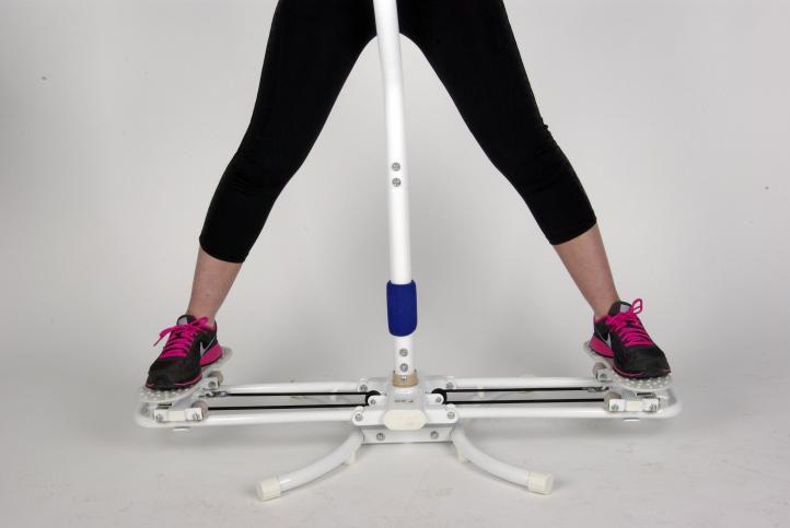 Wszystkie nowe Przyrząd do ćwiczeń mięśni nóg i brzucha - platforma rotacyjna OM99