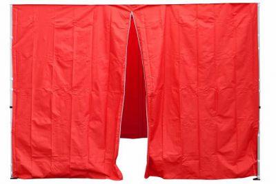 Komplet dwóch ścian do pawilonu PROFI 3 x 3 m - czerwony