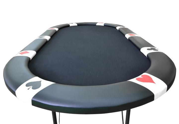 Stół do pokera BLACK EDITION dla 10 graczy