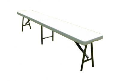 Rozkładana ławka ogrodowa 183 cm