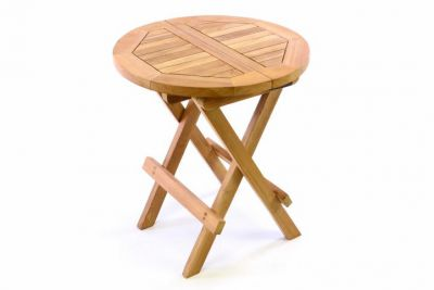 Stolik ogrodowy drewniany dziecięcy, 40 cm