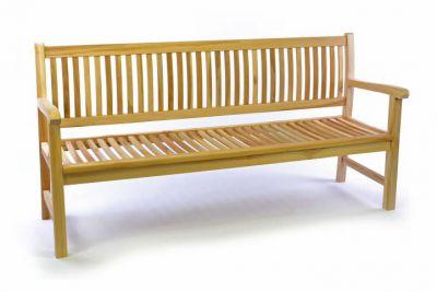 3 osobowa DIVERO ławka ogrodowa z drewna tekowego 180 cm