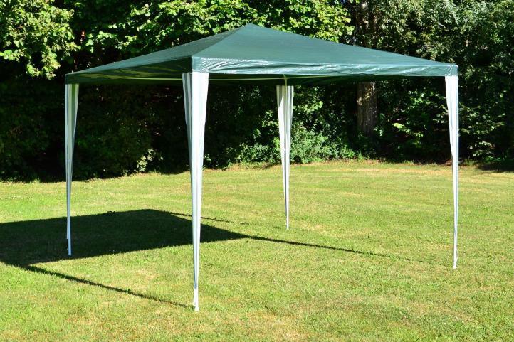 Namiot ogrodowy - zielony 3 x 3 m