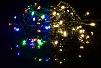 Świąteczny świetlny łańcuch - 3,9 m, 40 diod LED, 9 funkcji