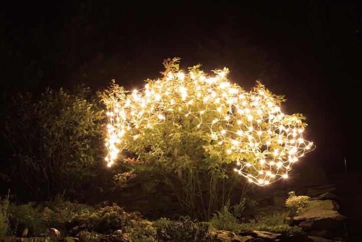 Lampki świąteczne 160 Led Oświetlenie Led Siatki 2 X 2 M 160 Ciepłe Białe Led