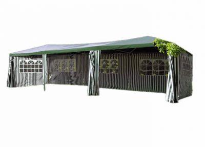 Pawilon ogrodowy zielony 3 x 9m