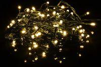 Świąteczny łańcuch świetlny LED - ciepły biały - 80 LED 8 m