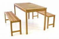 DIVERO zestaw stołowy i ogrodowy - tek nieimpregnowany - 135