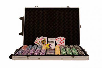 Pokerowy zestaw OCEAN Trolley CHAMPION CHIP