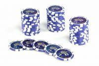 Żetony pokerowe Ocean 50 szt. z nominałem 10