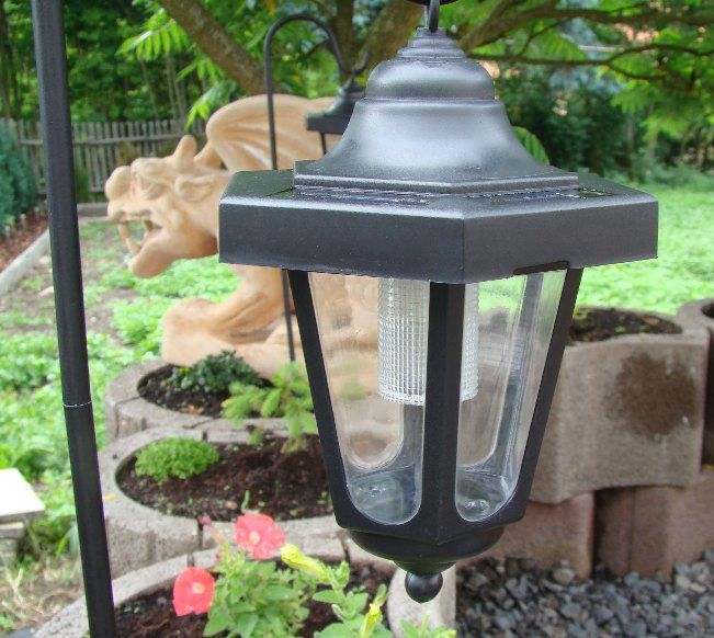 Lampa solarna ogrodowa latarnia LED komplet 3szt