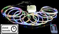 Świąteczne LED oświetlenie - kabel MINI, 5 m, kolorowy