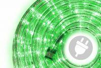 LED świetlny kabel - 240 diod, 10 m, zielony