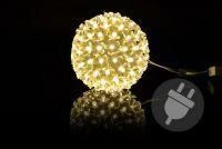 Bożonarodzeniowa dekoracja - Świateczne kule LED - 12 cm
