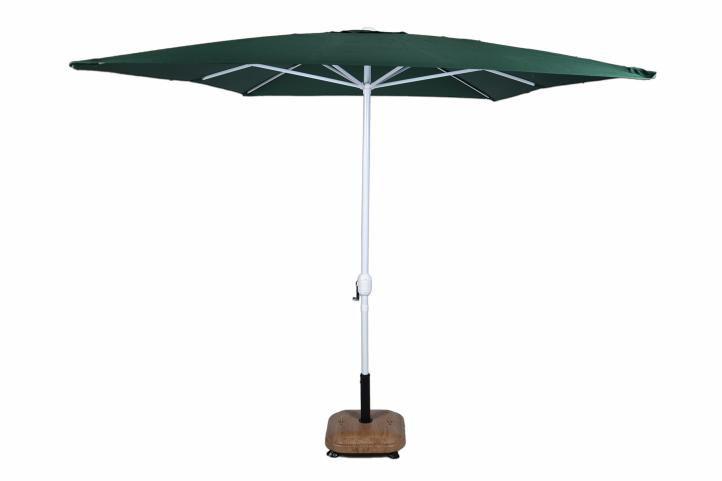 Parasol przeciwsłoneczny prostokątny 2x3 m - zielony