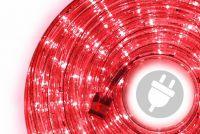 Wąż świetlny 10 m czerwony - 240 x LED dioda