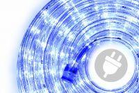 Wąż świetlny 10 m niebieski - 240 x LED dioda