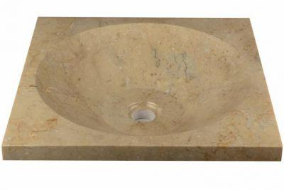 Umywalka nablatowa z naturalnego kamienia Salerno