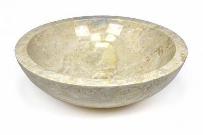 Umywalka nablatowa z wysokiej jakości marmuru Modena