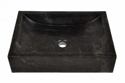 Umywalka nablatowa z wysokiej jakości marmuru Novara