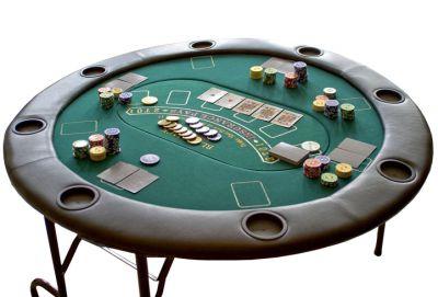 Profesjonalny składany stół do gry Poker lub dalszych.