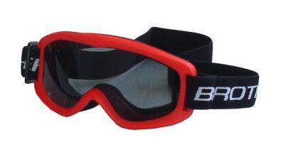 Gogle narciarskie DZIECIĘCE - czerwone