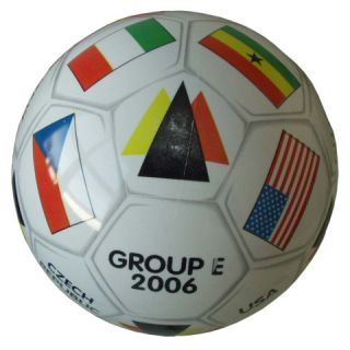 Piłka nożna drukowana GROUP - E