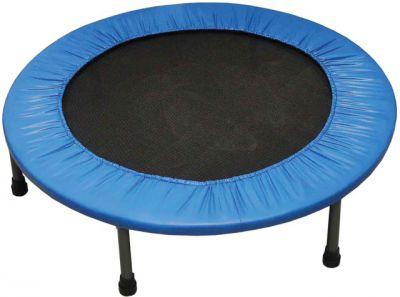 Fitness trampolina bez ochronnej siatki 122 cm