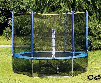 Siatka ochronna pod trampolinę ogrodową 366 cm