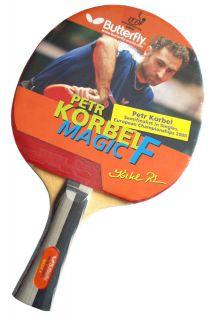 Rakietka do tenisa stołowego Butterfly Korbel Magic