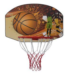 Tablica do koszykówki 90 x 60 cm z koszem