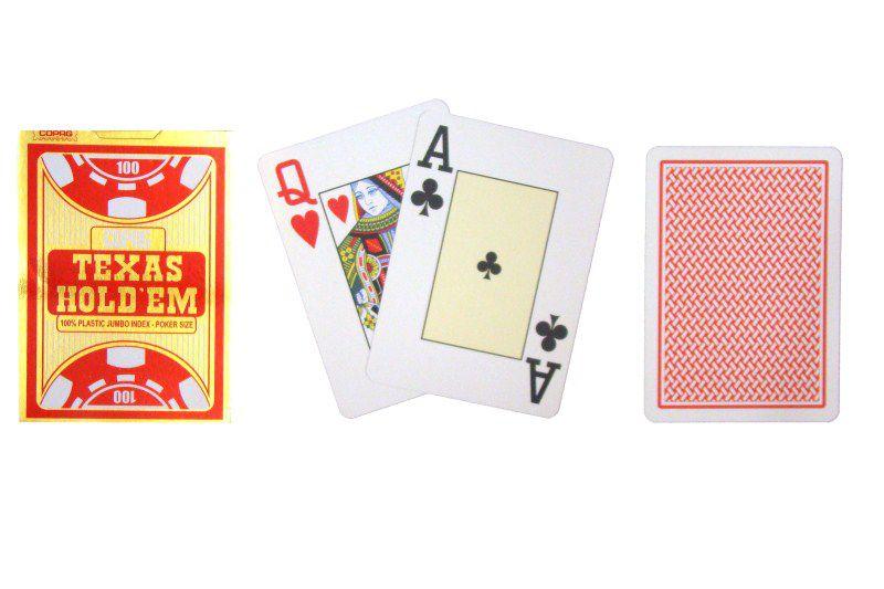 Poker Karty COPAG czerwony Gold