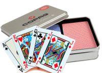 Karty pokerowe Edycja zimowa Copag, 100% plastik