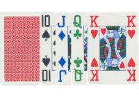 Karty pokerowe Copag czterokolorowe, 100% plastik