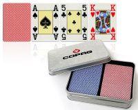 Karty pokerowe Edycja letnia Copag, 100% plastik