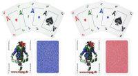 Copag Poker Cards Wydanie jesienne, 100% plastik