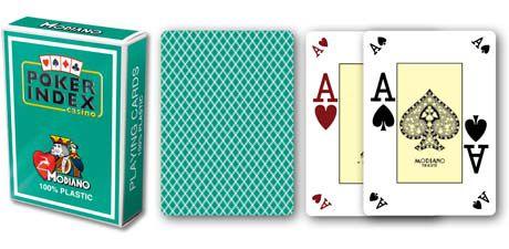 Karty Modiano mini 4 rogi - zielony